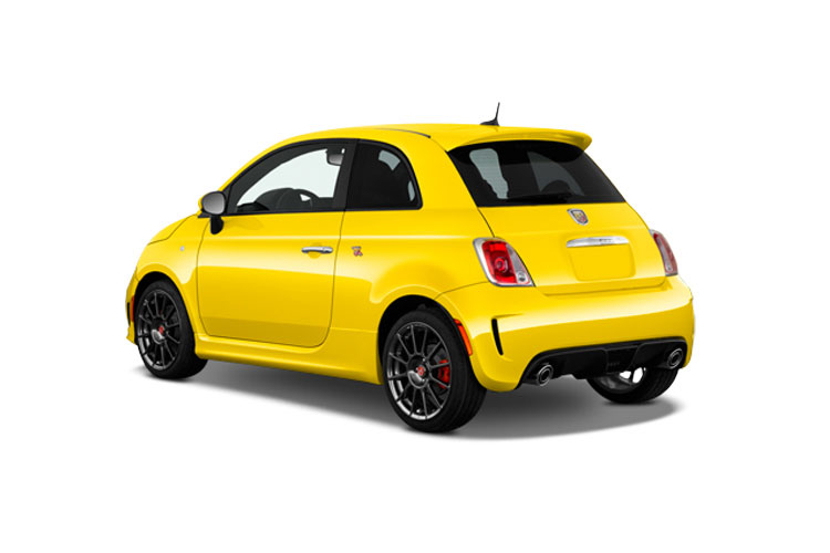 Abarth 595 Hatch 3Dr 1.4 T-Jet 180PS Competizione 3Dr Auto back view