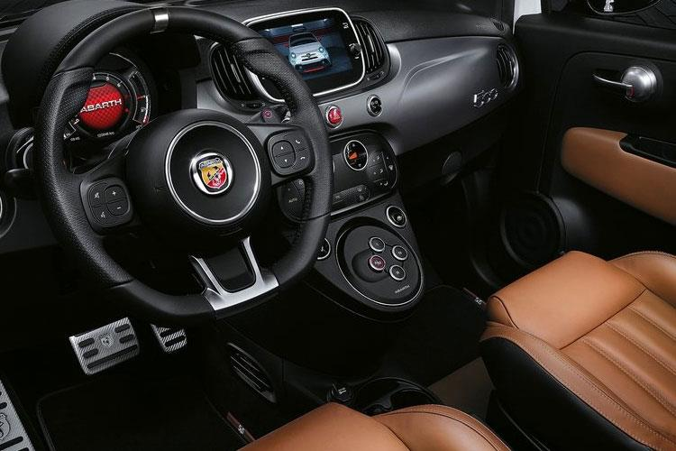 Abarth 595 Hatch 3Dr 1.4 T-Jet 180PS Competizione 3Dr Auto inside view