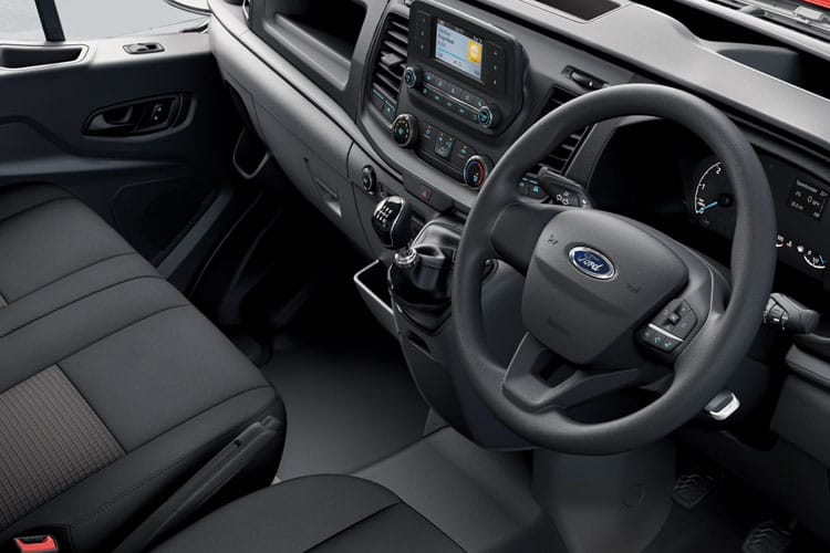 Ford Transit 350HD L5 RWD 2.0 EcoBlue DRW 130PS Leader Chassis Cab Manual [Start Stop] inside view